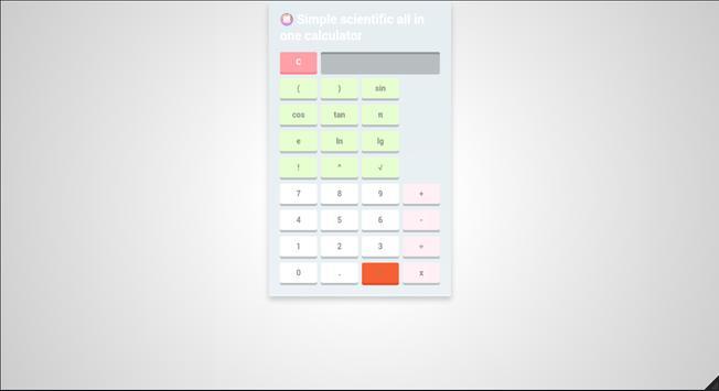 Simple scientific all-in-one calculator screenshot 21