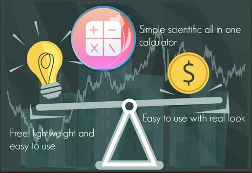 Simple scientific all-in-one calculator screenshot 3