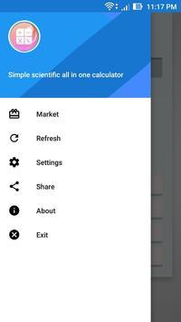 Simple scientific all-in-one calculator screenshot 4