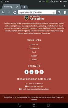 Sinau Kota Blitar apk screenshot