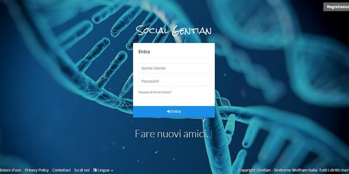 Sindrome Wolfram Italia Social screenshot 2