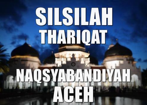 Thariqat Naqsyabandiyah Aceh poster