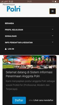 Sistem Informasi Penerimaan Anggota Polri poster