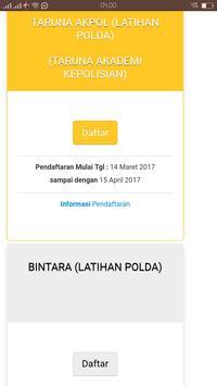 Sistem Informasi Penerimaan Anggota Polri screenshot 2