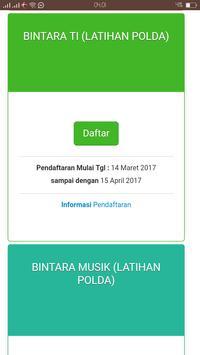 Sistem Informasi Penerimaan Anggota Polri screenshot 5