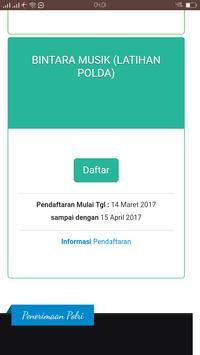 Sistem Informasi Penerimaan Anggota Polri screenshot 6