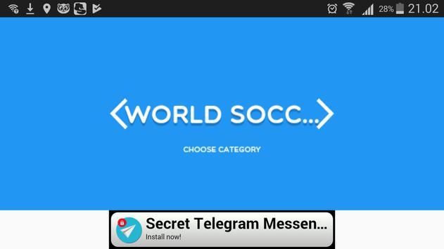 Soccer Clubs Scramble apk screenshot