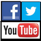 Social Media 3 In 1 icon