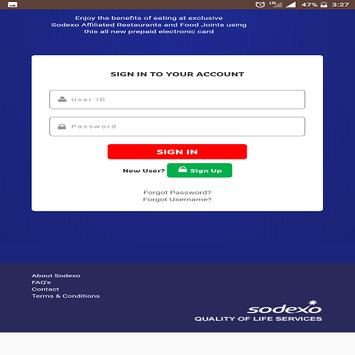how to change password for sodexo
