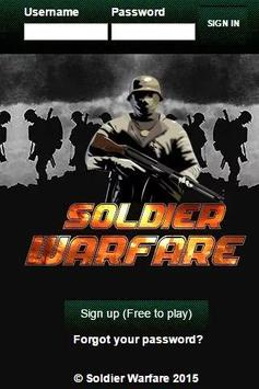 Soldier Warfare - Army RPG poster