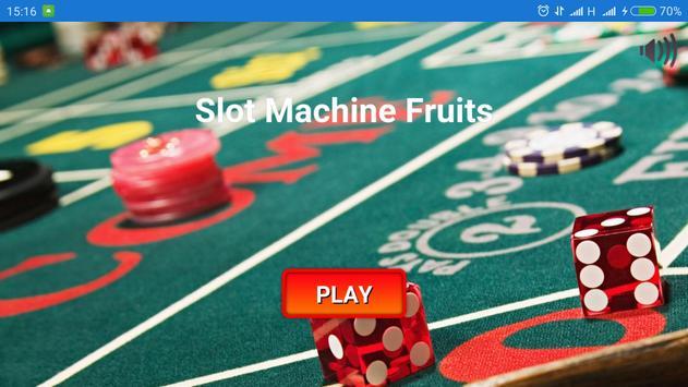 Slot Machine Fruits poster