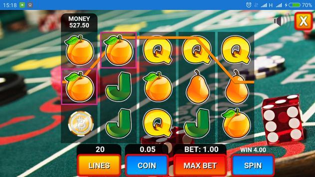 Slot Machine Fruits screenshot 2