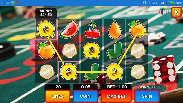 Slot Machine Fruits screenshot 6