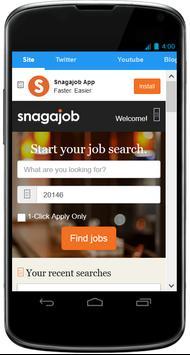 Snagajob - Desktop Version poster