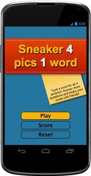 Sneaker 4 pics 1 word screenshot 1