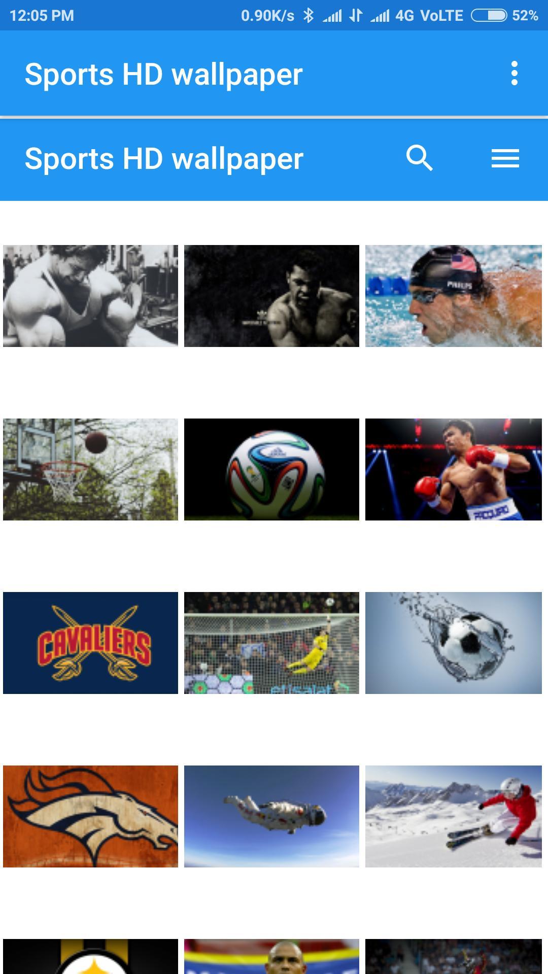 Sports HD wallpaper poster