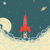 Space Ship Amazing icon
