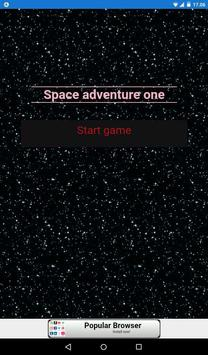 Space Adventure One poster