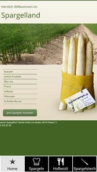 Spargel Flaach poster