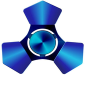 Spinner Blue 10 icon
