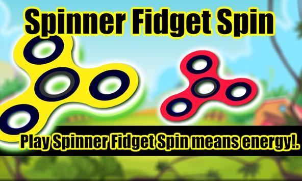 Spinner Fidget Spin poster