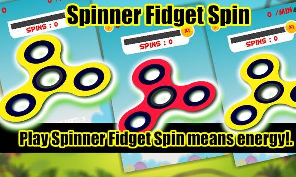 Spinner Fidget Spin apk screenshot
