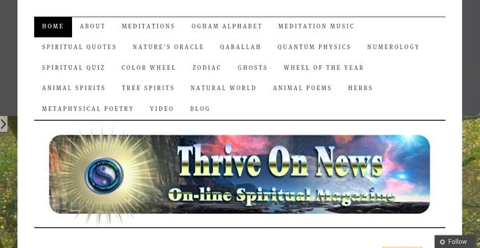 Spiritual Magazine poster