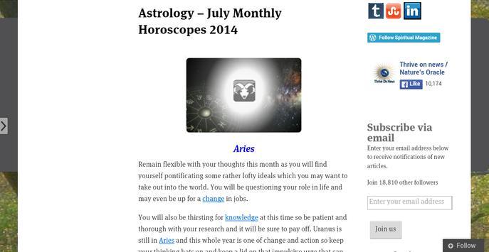 Spiritual Magazine apk screenshot