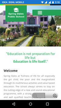 SpringDales School Sangrur poster