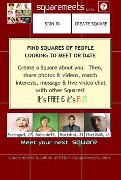Squaremeets - Meet New People! apk screenshot
