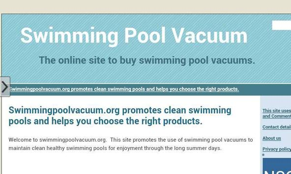 Swimming Pool Vacuum apk screenshot