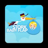 Stork Baby Flap icon