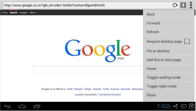 Starc Browser screenshot 3