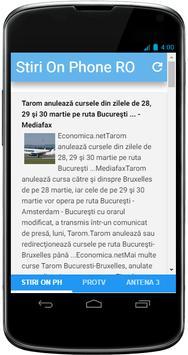 Stiri On-Phone Romania poster