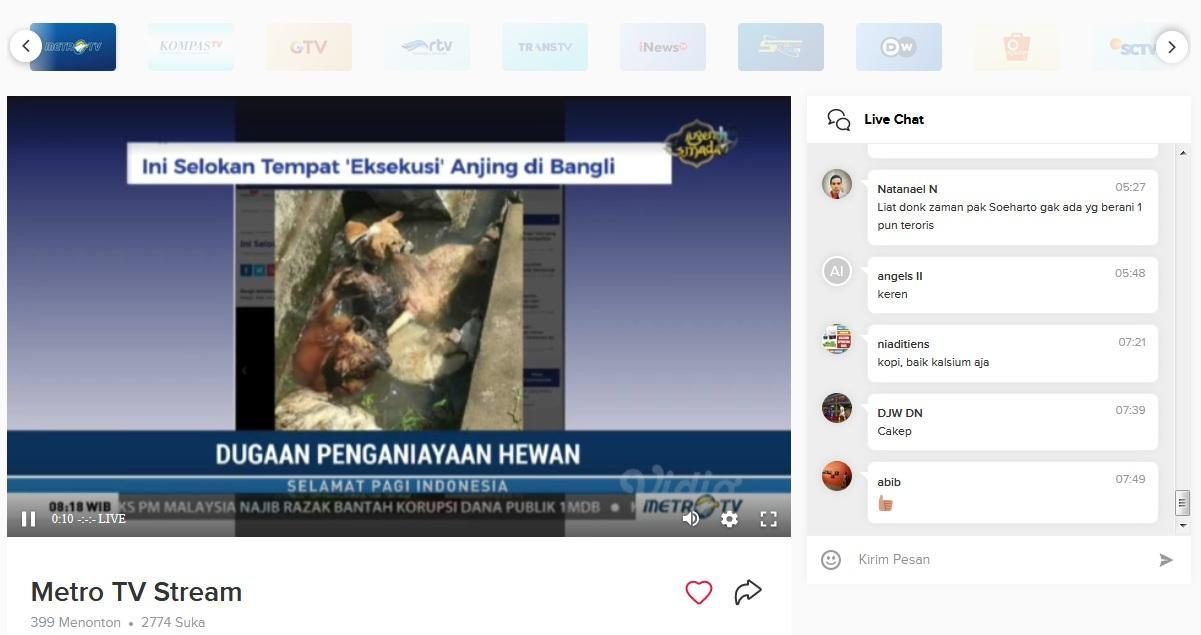 Download tv indonesia live streaming sites online.