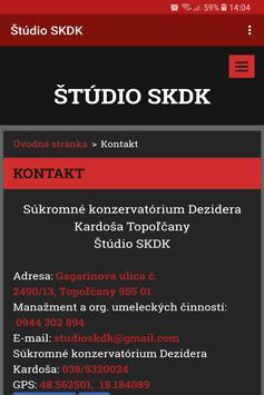 Štúdio SKDK screenshot 1