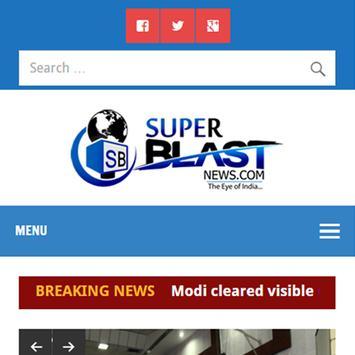 Superblastnews poster