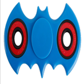 Superhero spinner icon