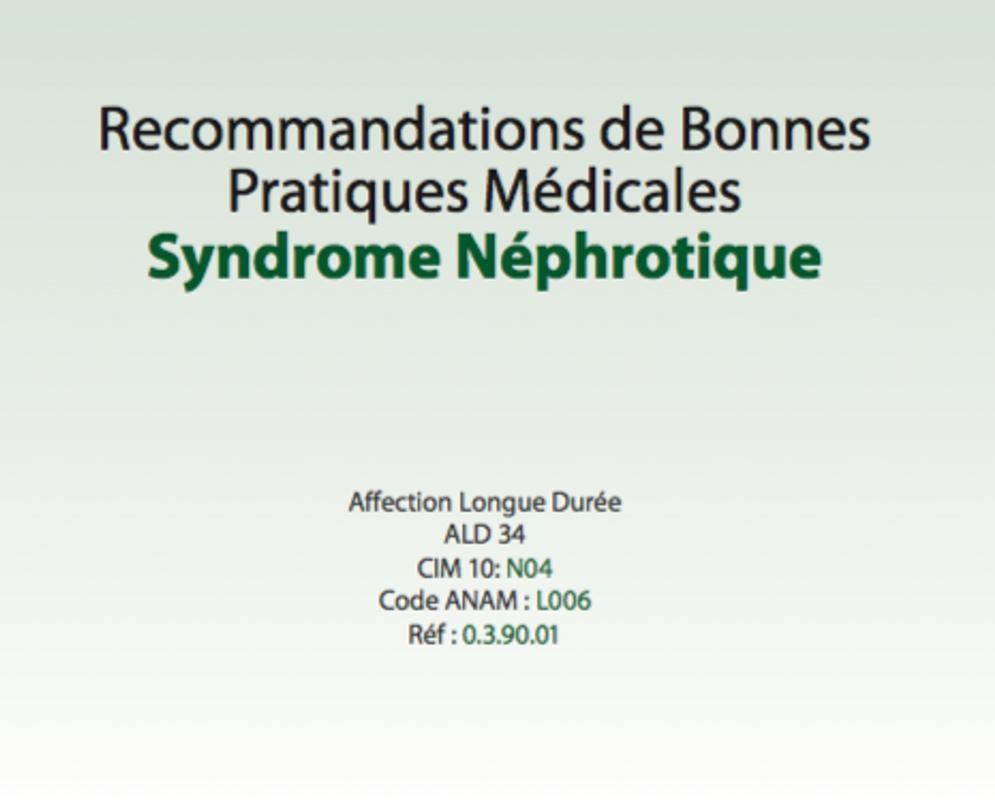 Cours de médecine Syndrome néphrotique for Android - APK Download