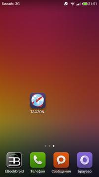 Taozon poster