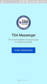 TDA Messenger poster