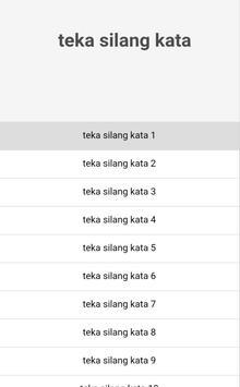 TEKA SILANG KATA PRO apk screenshot