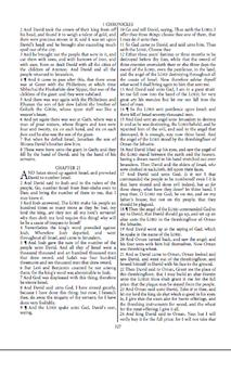 The King James Bible 1611 PCE poster