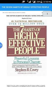 THE SEVEN HABITS OF HIGHLY EFFECTIVE PEOPLE screenshot 1