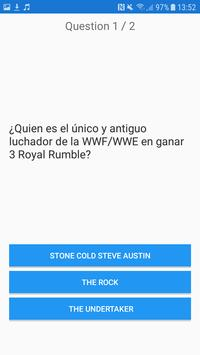 WWE Easy QUIZ screenshot 3