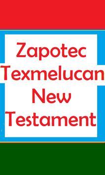ZAPOTEC TEXMELUCAN HOLY BIBLE poster