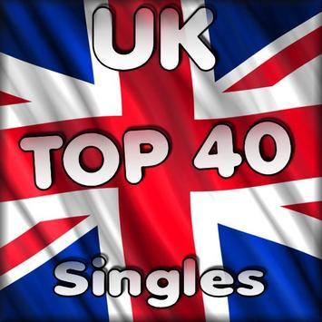 Top 40 UK poster