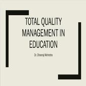 TQM IN EDUCATION icon
