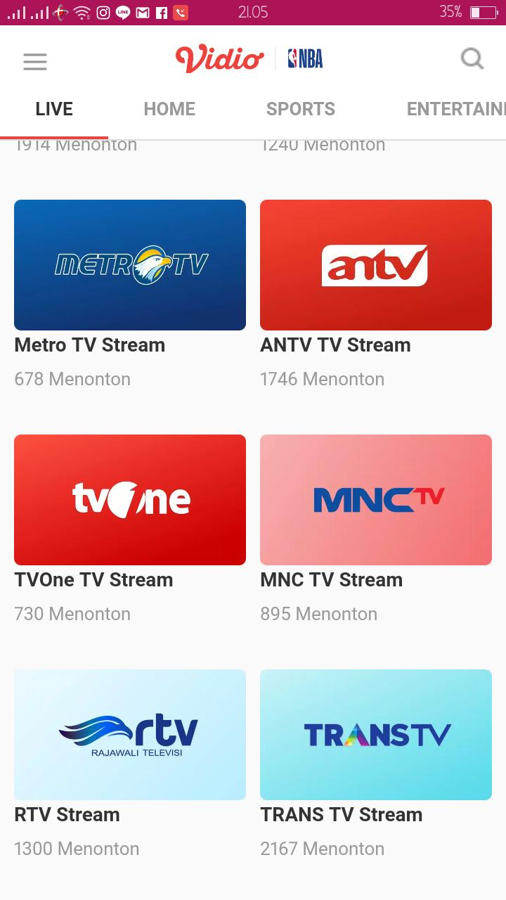 Live Streaming Tv Online Indonesia for Android - APK Download