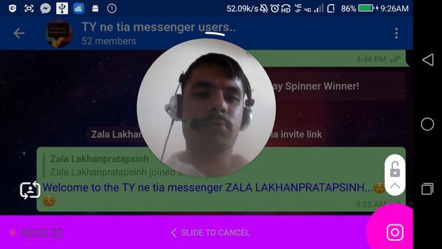 TY ne tia messenger screenshot 10